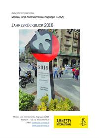 Titelblatt Jahresrückblick 2018